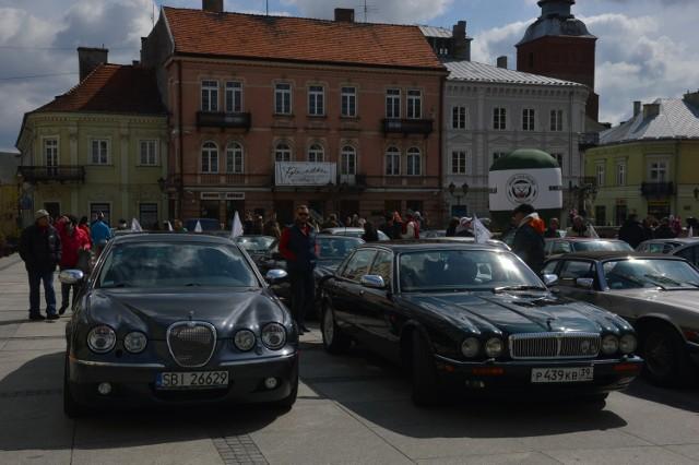 Zlot jaguarów w Piotrkowie