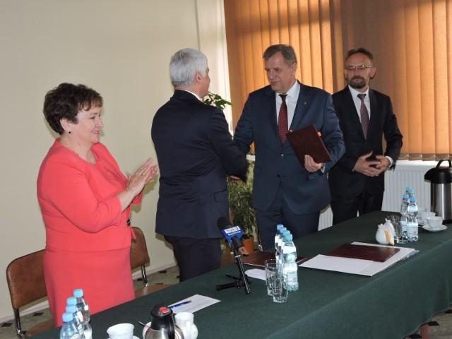 Podpisanie umowy na dofinansowanie przebudowy starej kuchnie w szpitalu w Bielsk Podlaskim