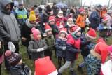 Bieg Mikołajkowy 2019 dla dzieci w Katowicach [ZDJĘCIA]. Działo się w Dolinie Trzech Stawów.
