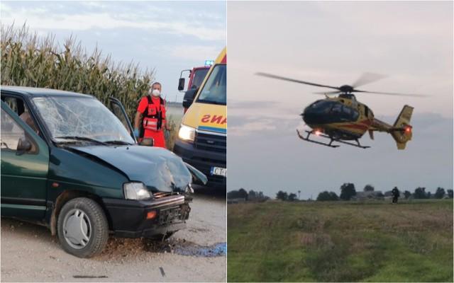 Wypadek w gminie Izbica Kujawska
