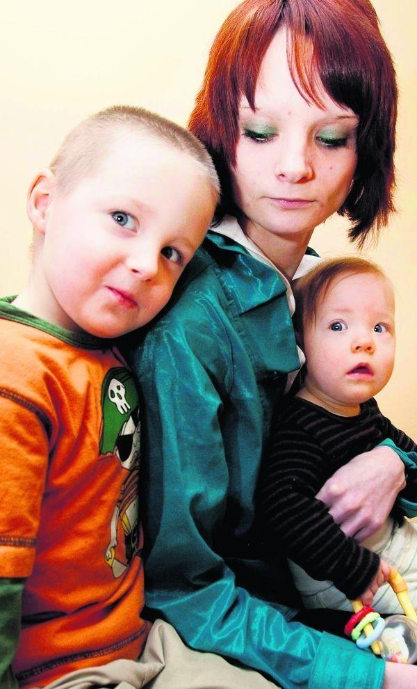 - Dzieci to moje największe szczęście - mówi pani Justyna