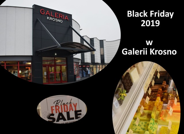 Black Friday 2019, czyli wielkie zakupowe szaleństwo wypada w tym roku 29 listopada. Mamy dla was listę promocji w Galerii Krosno, która w tym dniu będzie czynna godzinę dłużej - do godz. 21.