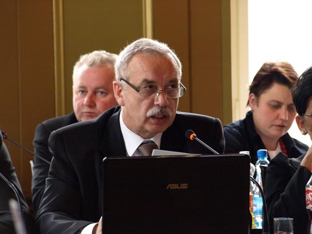 Burmistrz Ryszard Sylka