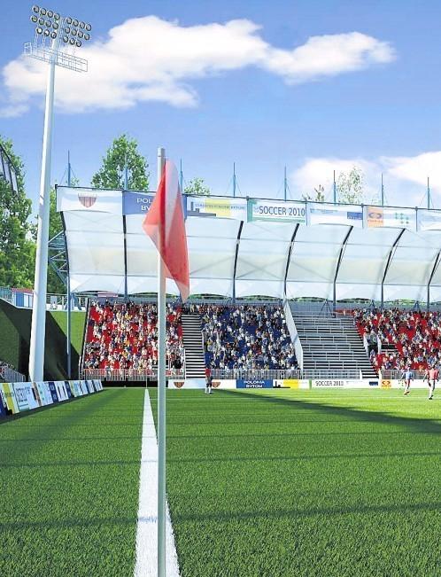 Tak w przyszłości może wyglądać stadion Polonii.