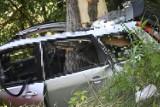 Śmiertelny wypadek w powiecie świeckim. Nie żyje 33-letni mężczyzna. Zobacz zdjęcia