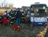 Wypadek w Dzierżanowie - Szynobus uderzył w autobus. Zginął nastoletni Adam z Dzierżanowa
