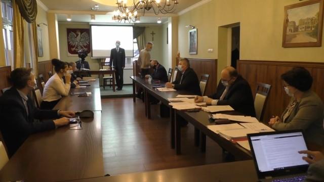 Screen z poprzedniej sesji rady