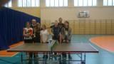 Gimnazjum nr 4 bezkonkurencyjne w mistrzostwach Włocławka SZS w tenisie stołowym