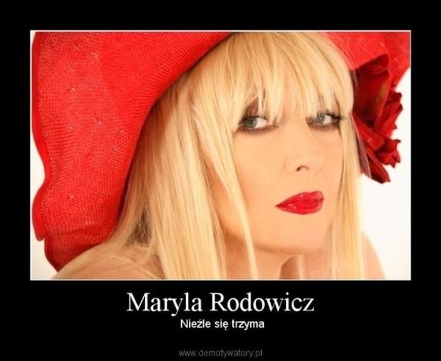 Maryla Rodowicz stała się bohaterką MEMÓW