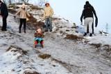 Kościan. Zimowe zabawy dzieci na Ferfecie [ZDJĘCIA]