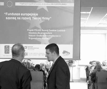 Cykl szkoleń jest finansowany przez Unię Europejską. Fot. Tomasz Zaborowicz