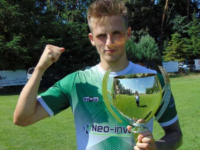 Marcin Hadała z Korony Stróżewo strzelił 37 bramek