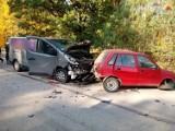 Śmiertelny wypadek w Koszwicach. W wyniku zderzenia dwóch pojazdów zginęła 60-letnia kobieta. Do wypadku doszło też w Pawonkowie [ZDJĘCIA]