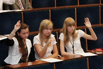 Obrady bytomskiej Młodzieżowej Rady Miejskiej
