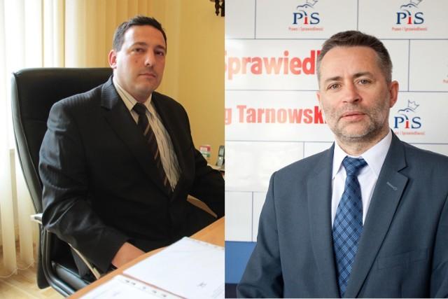 Tomasz Całka (od lewej) i Sławomir Pater (od prawej) to nowe władze TARR. Na razie zapoznają się z sytuacją w tej spółce