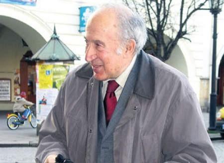 Podczas pobytu w Cieszynie profesor Richard Pipes miał okazję odbyć sentymentalną podróż po mieście.