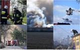Wielki pożar w powiecie aleksandrowskim. Pali się wysypisko śmieci w Łowiczku [zdjęcia]