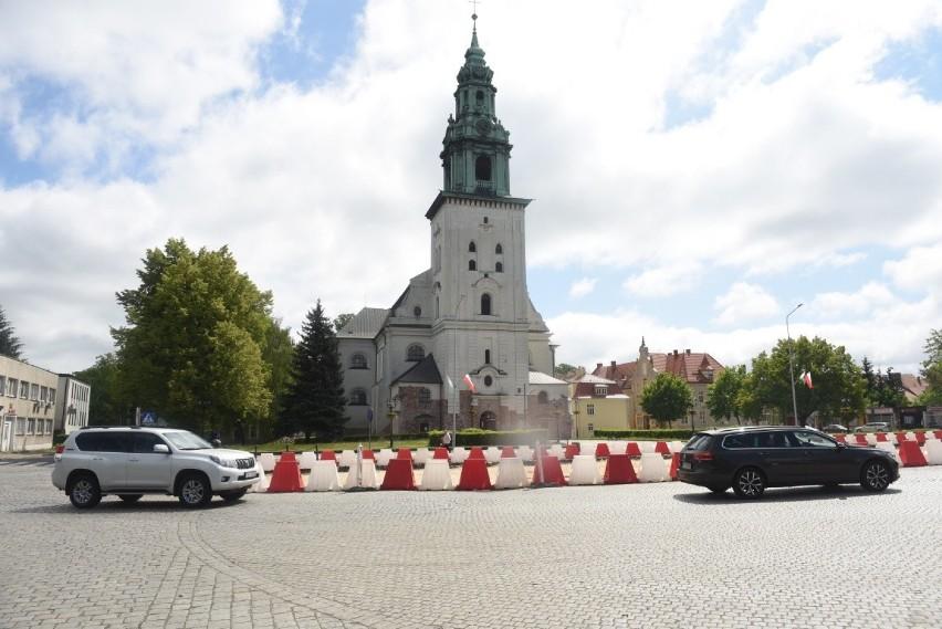 Plac św. Jadwigi Śląskiej w Krośnie Odrzańskim. Jeszcze...