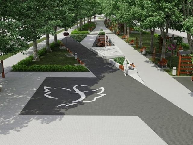 Wkrótce ruszy przebudowa Parku Solidarności w Biłgoraju