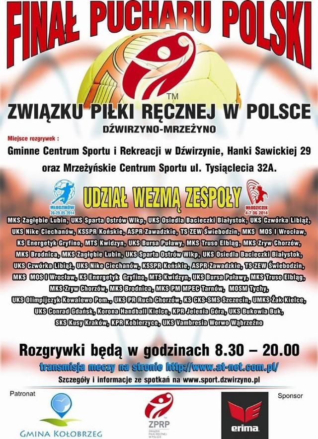 Plakat promujący Finały PP