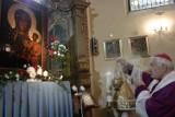 Gm. Pniewy. Nawiedzenie kopii obrazu Matki Boskiej Częstochowskiej w Psarskiem