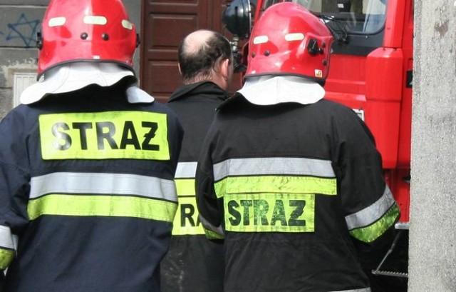 Strażacy z Brodnicy udzielili pomocy seniorowi