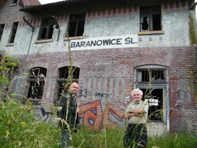 Tak kilka lat temu wyglądał teren dworca kolejowego w Baranowicach