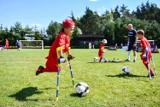 Wisła Kraków Amp Futbol. Młodzi piłkarze ampfutbolowi na stadionie przy ul. Reymonta