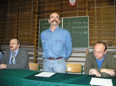 Czy Wojciech Schreiber będzie lepszym prezesem niż jego poprzednicy Józef Kołak (z lewej) i Jarosław Wróblewski (z prawej)?  Fot. Wojciech Piepiorka