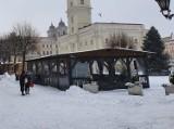 Leszno. Ogródki wiedeńskie zostały na Rynku na całą zimę. Co jest powodem?