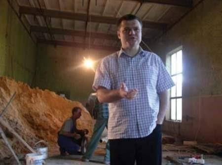 Mariusz Andrukiewicz ma nadzieję, że remont szybko się zakończy.
