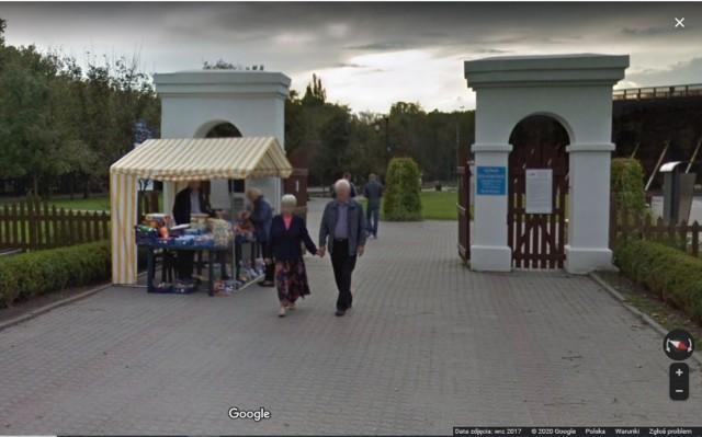 Inowrocławskie Solanki w Google Street View