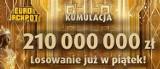 Eurojackpot 1.02.2019 wyniki. Losowanie loterii Eurojackpot Lotto na żywo 1 lutego 2018. Do wygrania 210 mln zł [wyniki, numery, zasady]