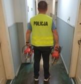 Zatrzymano dwóch mężczyzn, którzy są podejrzani o kradzież pił spalinowych