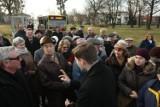Chcą przywrócenia linii 139 - wyszli protestować na ulicę [ZDJĘCIA]
