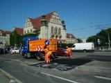 Poznańscy drogowcy załatali dziury o łącznej powierzchni 1/4 stadionu przy Bułgarskiej