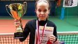 Marta Dudek z Bełchatowa ze srebrem w deblu halowych mistrzostw