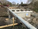 Remont mostu w Kolbudach przedłuża się. Potrzebne są zmiany projektowe i przebudowa sieci