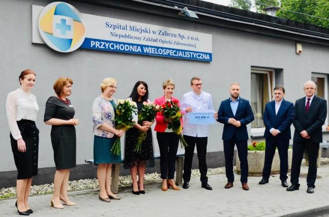 Szpital Miejski otrzymał ponad 500 tys. złotych na walkę z koronawirusem