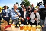 Dolnośląskie Święto Miodu i Wina, do Przemkowa zjechali pszczelarze z całej Polski