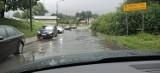 Marklowice: Ulica Wyzwolenia ponownie zalana. Utrudnienia na DW 932