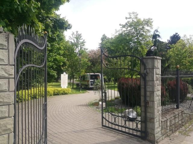 Tężnia solankowa na Małych Plantach w Mikołowie