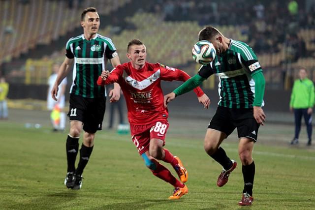Szczęśliwy remis 1:1 nad ROW-em Rybnik 14 marca 2014