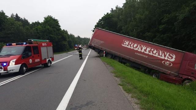 Śmiertelny wypadek na dk. 91 w miejscowości Księże Włóki (22.06.2020)