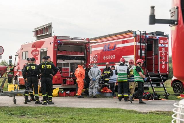 """Ćwiczenia ratownicze strażaków pod kryptonimem """"WODA 2021"""""""