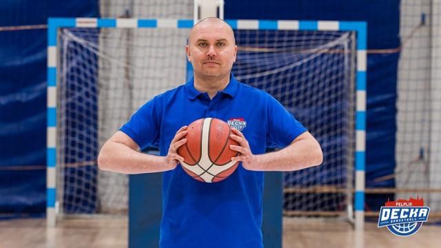 Pochodzący z Kłodzka Marcin Radomski został trenerem Decki Pelplin