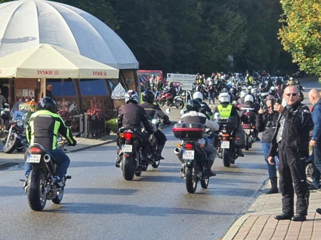 Zakończenie sezonu motocyklowego 2020 w Starym Sączu.