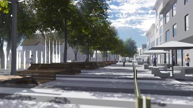 Zmiany w Jastrzębiu: wizualizacje nowych miejsc
