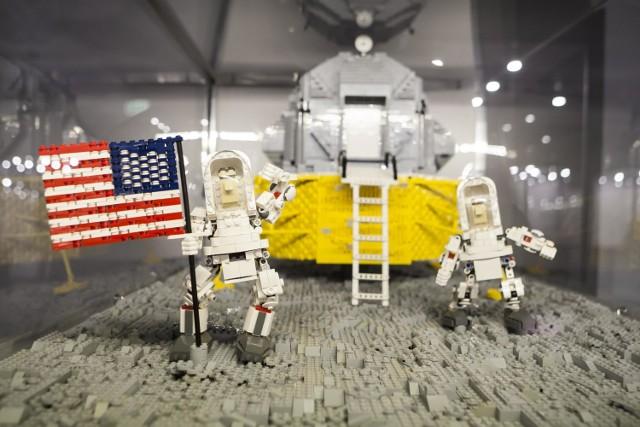 Darth Vader, R2 D2 i PGE Arena Gdańsk z klocków Lego. A to wszystko w Polsce!
