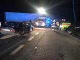Droga krajowa nr 24 zablokowana: Wypadek pomiędzy Pólkiem, a Daleszynkiem [ZDJĘCIA]
